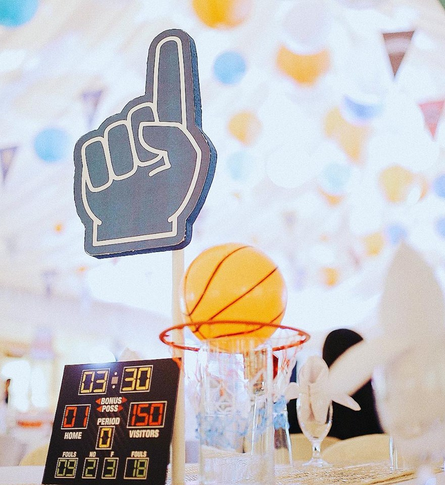 NBA All-Star Kiddie Party Theme